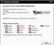 установить титан покер на русском языке