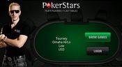 меню лобби покер старс для iPad