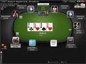 Типичный стол на Титан Покер