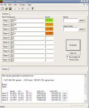 скриншот pokerstove покерный калькулятор