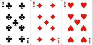Комбинации трехкарточного покера сет