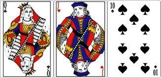 Комбинации трехкарточного покера стрэйт