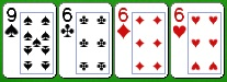 Комбинация бадуги из двух карт