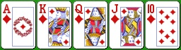 Комбинация карибского покера флэш-рояль