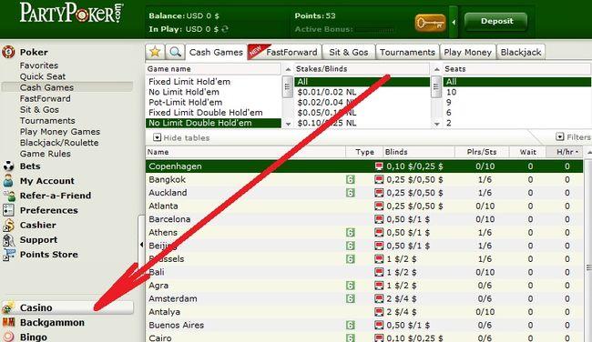 Как найти карибский покер