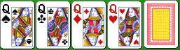 Комбинация карибского покера каре