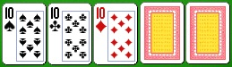 Комбинация китайского покера сет