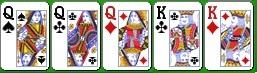 Комбинация королевского холдема фулл-хаус