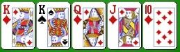 Комбинация королевского холдема пара