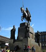 Прага. Памятник Вацлаву