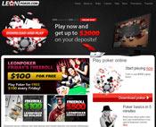 сайт леон покер
