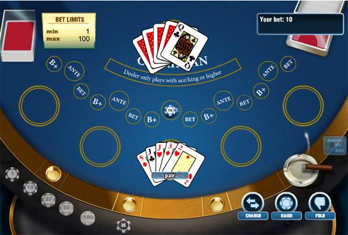 стол карибского покера