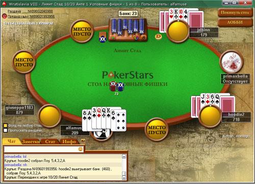 стад хорсе покер правила